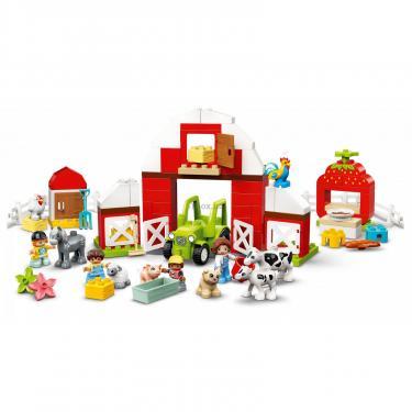 Конструктор LEGO Duplo Фермерский трактор, домик и животные Фото 3