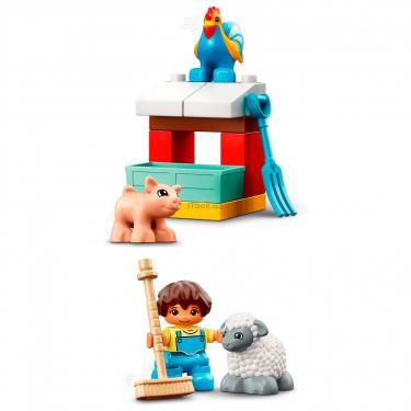 Конструктор LEGO Duplo Фермерский трактор, домик и животные Фото 5
