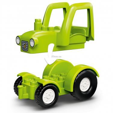 Конструктор LEGO Duplo Фермерский трактор, домик и животные Фото 6