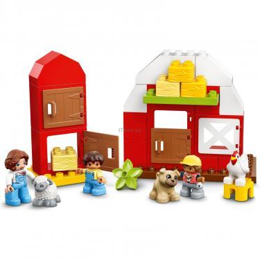Конструктор LEGO Duplo Фермерский трактор, домик и животные Фото 8