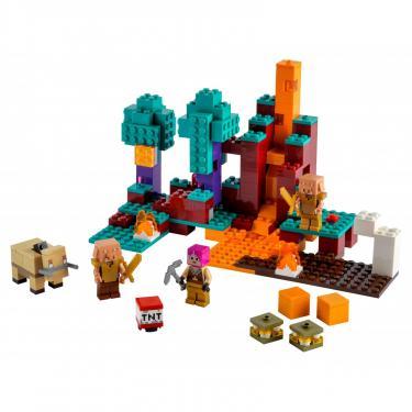 Конструктор LEGO Minecraft искажен лес Фото 1