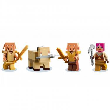 Конструктор LEGO Minecraft искажен лес Фото 2