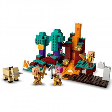 Конструктор LEGO Minecraft искажен лес Фото 3