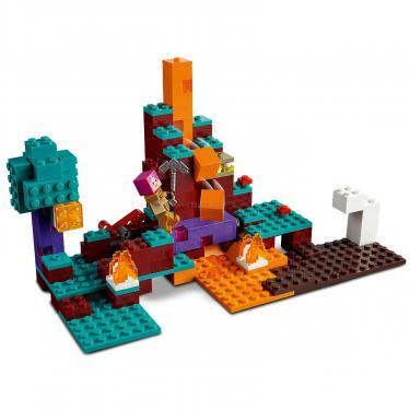 Конструктор LEGO Minecraft искажен лес Фото 4