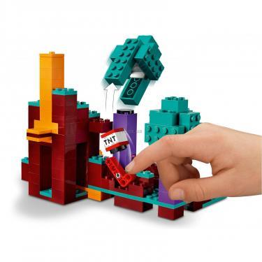Конструктор LEGO Minecraft искажен лес Фото 6