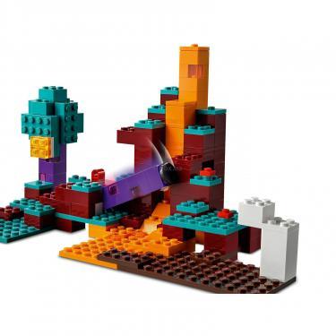 Конструктор LEGO Minecraft искажен лес Фото 7