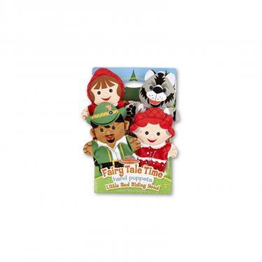 Игровой набор Melissa&Doug Кукольный театр Красная шапочка, 4 штуки Фото