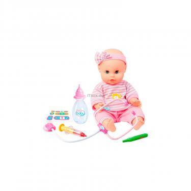 Пупс Play Baby с интерактивным набором врача 32 см Фото