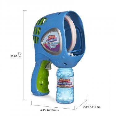 Игровой набор Gazillion Генератор мыльных пузырей Гигант автоматический бл Фото 1