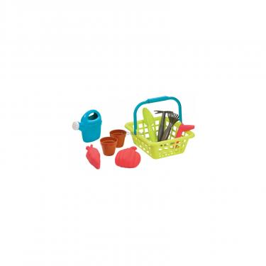 Игровой набор Ecoiffier корзина Садовника с горшками для цветов Фото