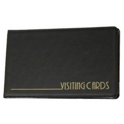 Визитница Panta Plast 24 cards, PVC, black (0304-0001-01)