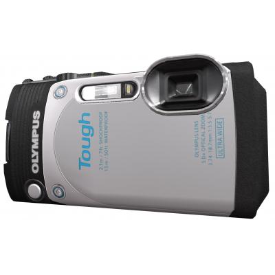 Цифровой фотоаппарат OLYMPUS Tough TG-870 White (Waterproof - 15m; Wi-Fi; GPS) (V104200WE000)