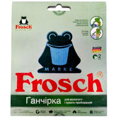 Тряпка для пола Frosch Ecological 2 шт (4820178470018)