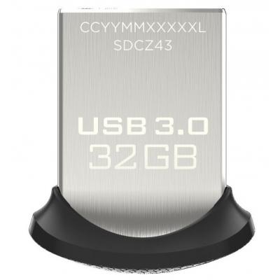 USB флеш накопитель SANDISK 32GB Ultra Fit USB 3.0 (SDCZ43-032G-GAM46)