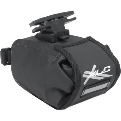 Сумка подседельная XLC BA-W22, черно-серая (2501706000)