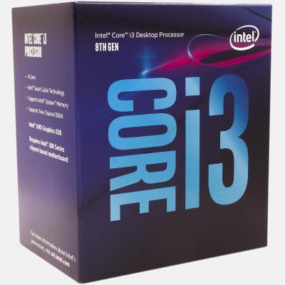 Процессор INTEL Core™ i3 8100 (BX80684I38100)